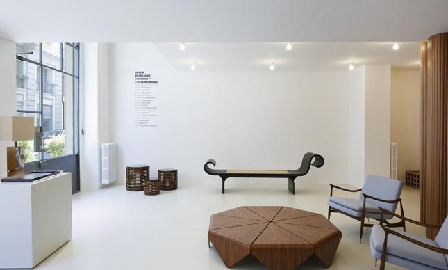 A marca leva para a Itália peças desenhadas por nomes como Lina Bo Badi, Oscar Niemeyer e Lasar Segall