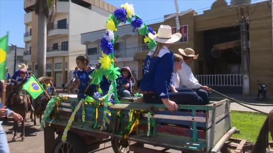 Vilhena recebe a 33ª cavalgada da Expovil