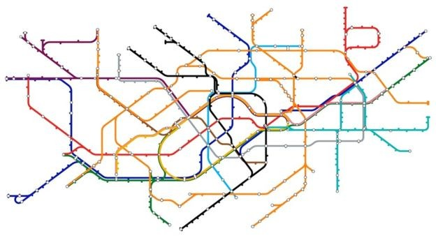 Do dilema das pontes nasceu a topologia, usada em trajetos de metrô (Foto: Getty Images/BBC)