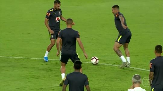 Globo transmite hoje amistoso entre Brasil e Argentina