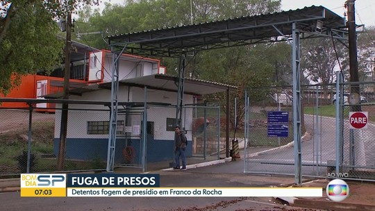 Presos fogem de penitenciária de Franco da Rocha