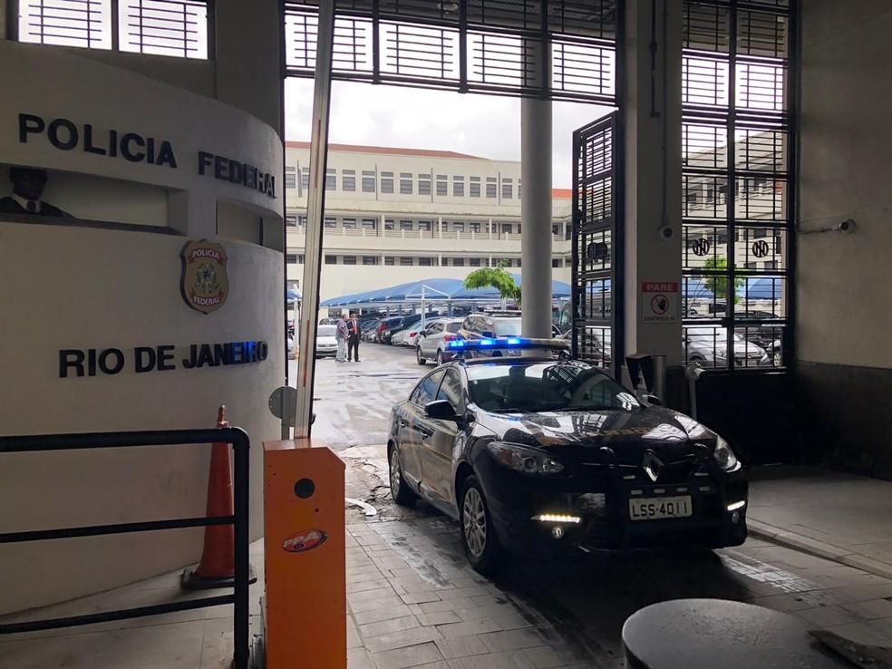 Superintendência da PF fica no Centro do Rio — Foto: Carlos Brito/G1