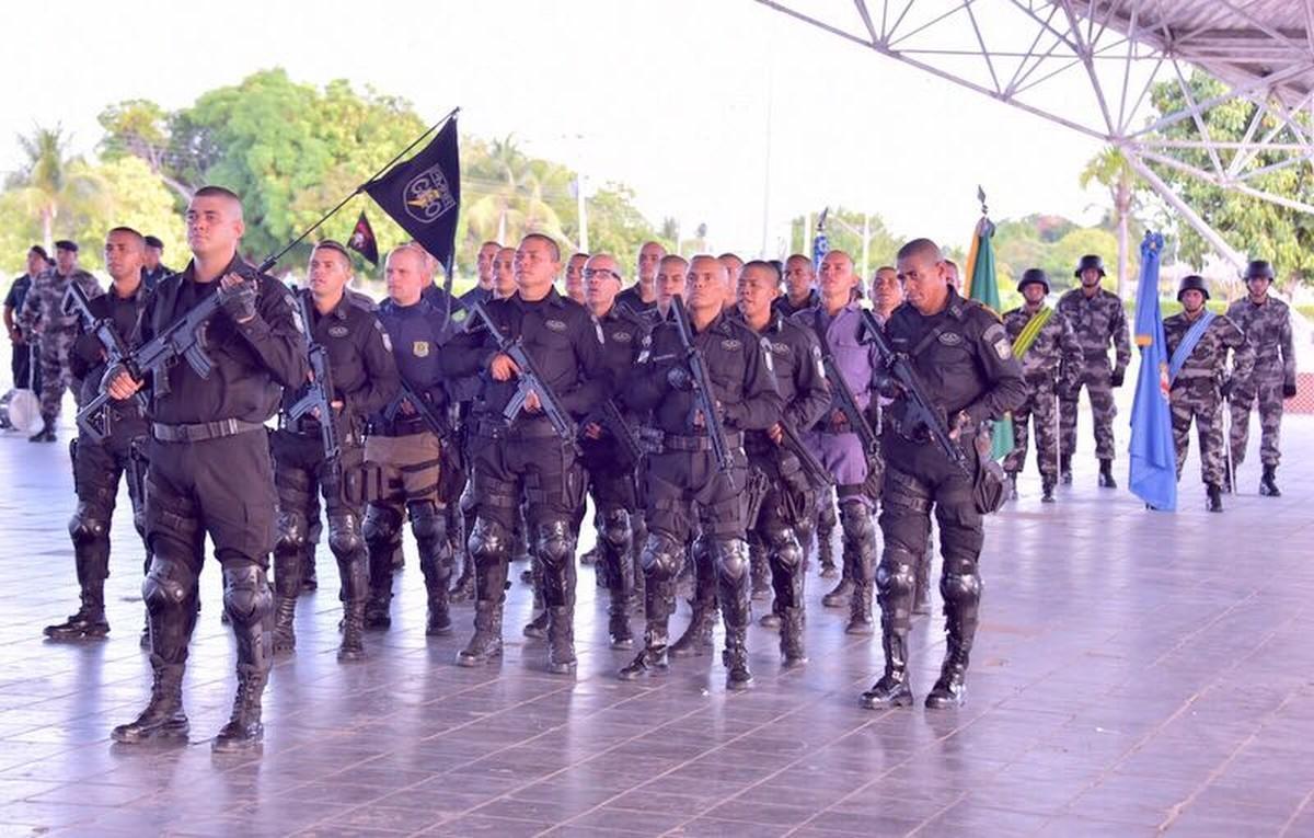 PM aborda 63 pessoas em Boa Vista durante operação para achar armas irregulares e motos roubadas