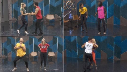 Em vídeos exclusivos, assista aos ensaios do Grupo 2 no 'Dança dos Famosos'