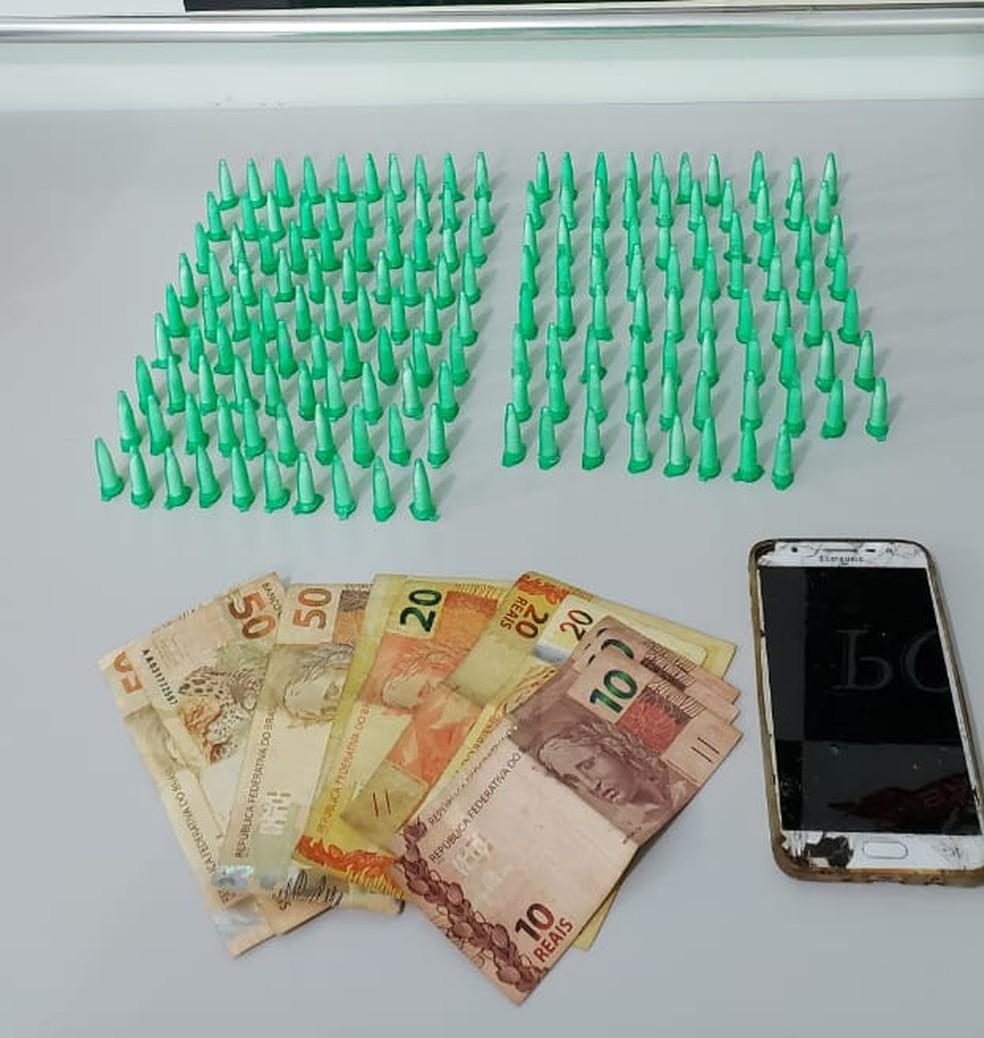 Polícia Civil realiza apreensão de drogas em Jaú — Foto: Polícia Civil/Divulgação
