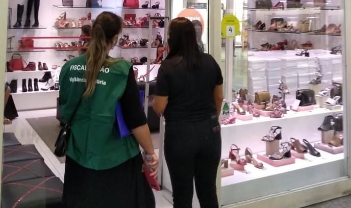 Shopping em Santos é intimado em vistoria para prevenção à Covid-19