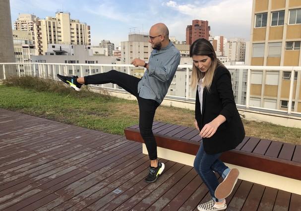 Felipe Blumen e Fernanda Frozza (Foto: Divulgação)