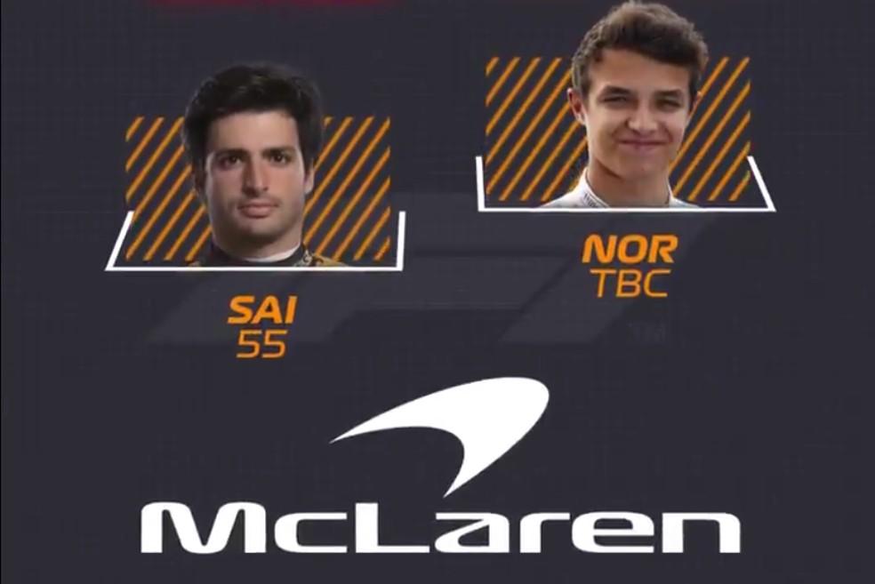 McLaren — Foto: Reprodução