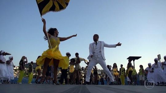 Sete escolas desfilam no segundo dia de desfiles do Grupo Especial do carnaval 2019 do Rio