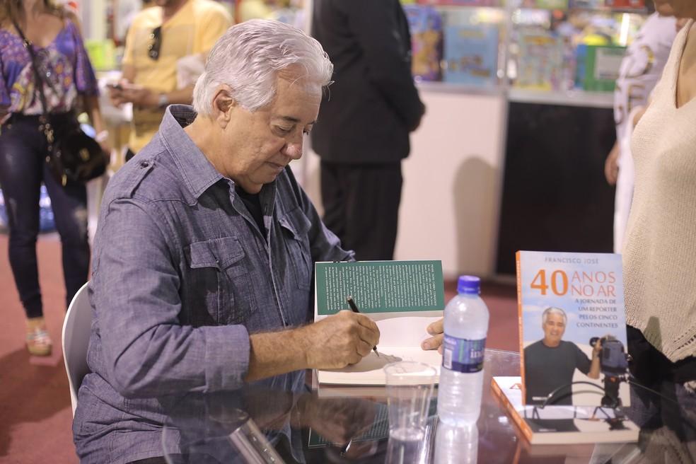 Jornalista Francisco José vai participar do primeiro dia do evento — Foto: Divulgação