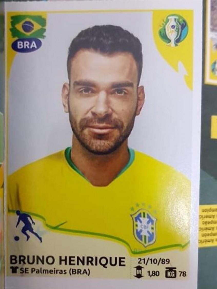 Bruno Henrique (Foto: Reprodução: Twitter)