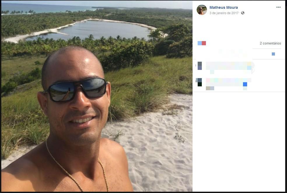 Estudante de direito foi assassinado após sair para ver amigo em Salvador  — Foto: Reprodução/Facebook
