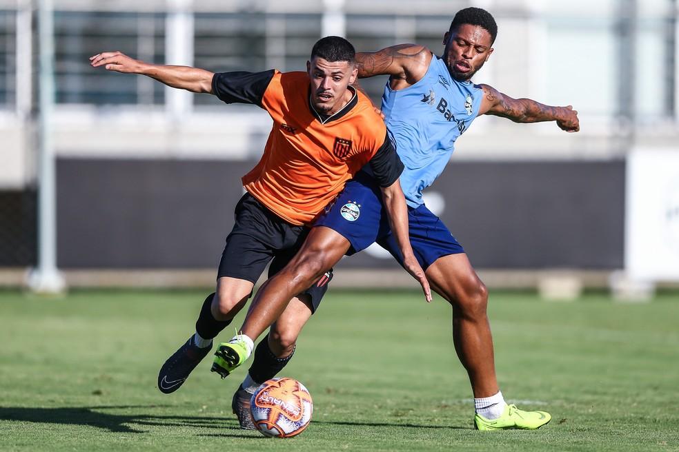 André ainda não convenceu no Grêmio — Foto: Lucas Uebel/Grêmio