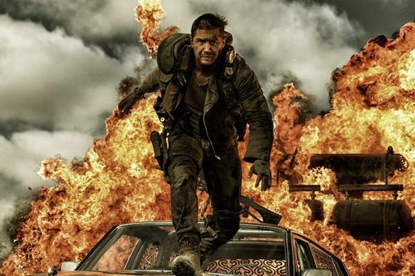 O ator Tom Hardy em cena de Mad Max (2015) (Foto: Reprodução)