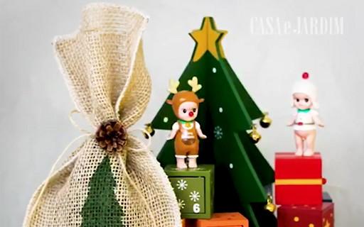 30 vezes Natal: personalize o seu embrulho de presente