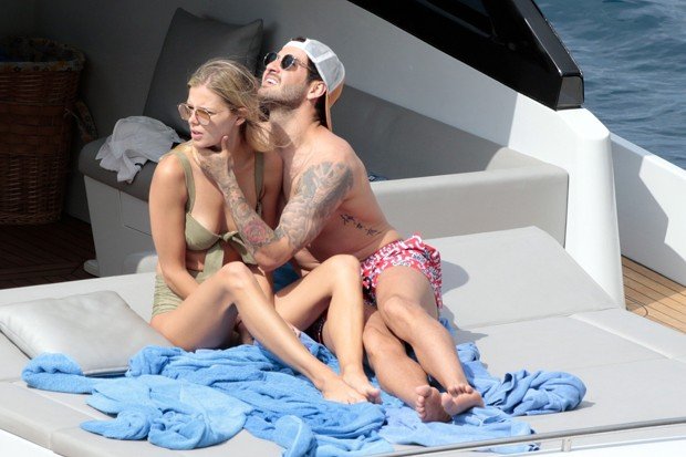 Danielle Knudson e Alexandre Pato  (Foto: The Grosby Group)