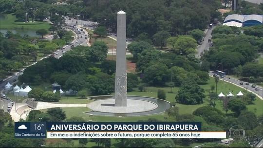 Parque Ibirapuera completa 65 anos
