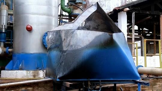 Resfriador de destilaria explode e mata trabalhador em Palmital