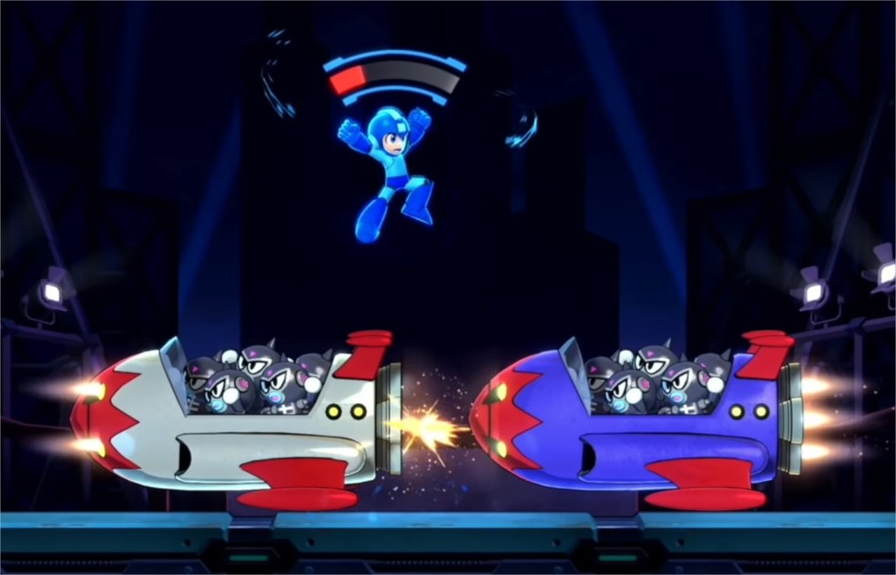 Mega Man 11 rescues coolly calculated jumps and multiple simultaneous attacks of enemies - Photo: Divulga / Capcom