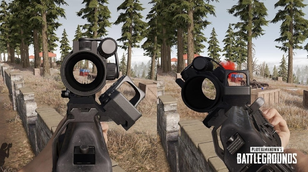 Back in PUBG: Understand and know how to use it in weapons