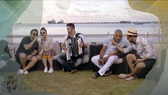 Aviões do Forró, Ávine Vinny, Chico Pessoa e Caninana com muitas histórias e parcerias musicais