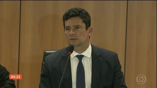 Sergio Moro se reúne com equipe de transição e atual ministro da Segurança, Raul Jungmann