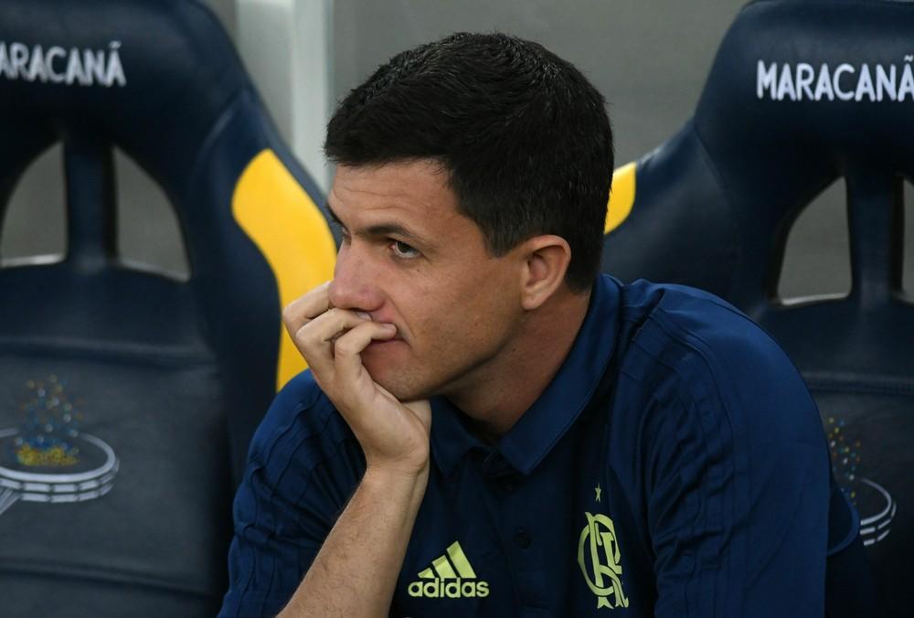 Treinador vê Flamengo dominante na partida contra o Tricolor Paulista e  aponta erros de finalização como fator determinante para a derrota 6f4bdab0112f4