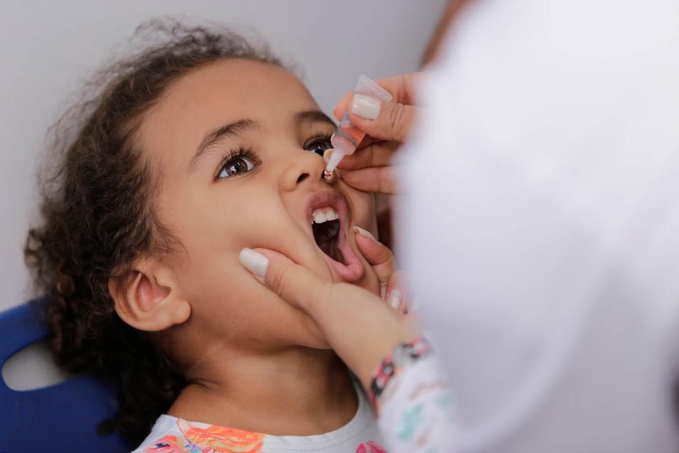 Vacinação contra sarampo e pólio continua até 31 de agosto (Foto: Prefeitura de Palmas / Divulgação)