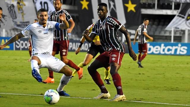 Luiz Henrique em Santos x Fluminense