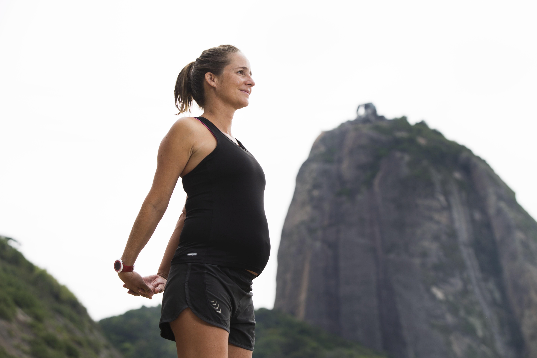 Rosália, grávida de Maria, continuou a se exercitar mas com parcimônia
