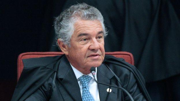 Caso 'golden shower' chegou ao STF e terá relatoria do ministro Marco Aurélio Mello (Foto: CARLOS MOURA/SCO/STF via BBC)
