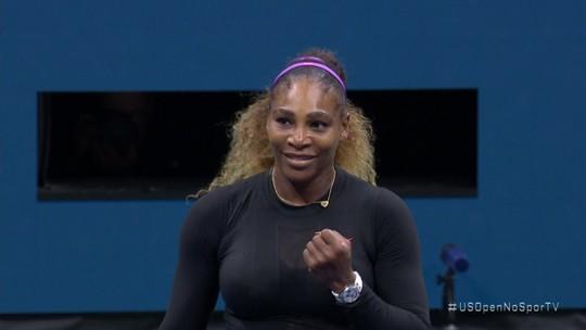Serena busca recorde de Grand Slams e 1º título como mãe contra tenista 18 anos mais jovem