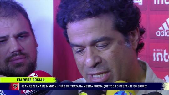 """Raí fala sobre a indisciplina do Jean e sobre o momento do São Paulo: """"Tenso"""""""
