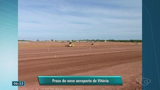 Repórter de A Gazeta comenta promessas para fim das obras do aeroporto de Vitória