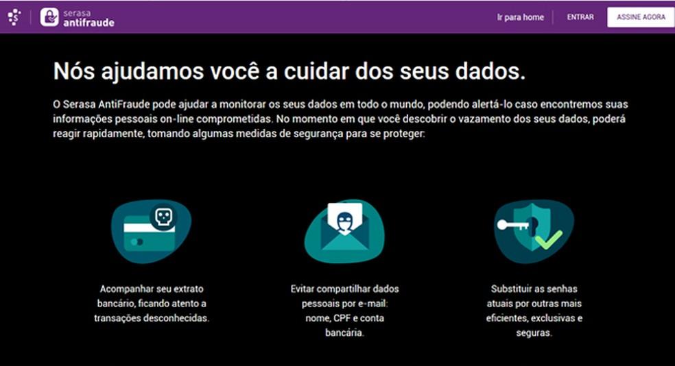 Serasa Antifraude desenvolve protocolo de procedimentos para se proteger de ataques de cibercriminosos — Foto: Reprodução/Giulia Araújo