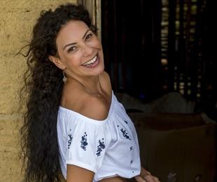 Fabiula Nascimento fala da sua personagem na novela (GLOBO/João Cotta)