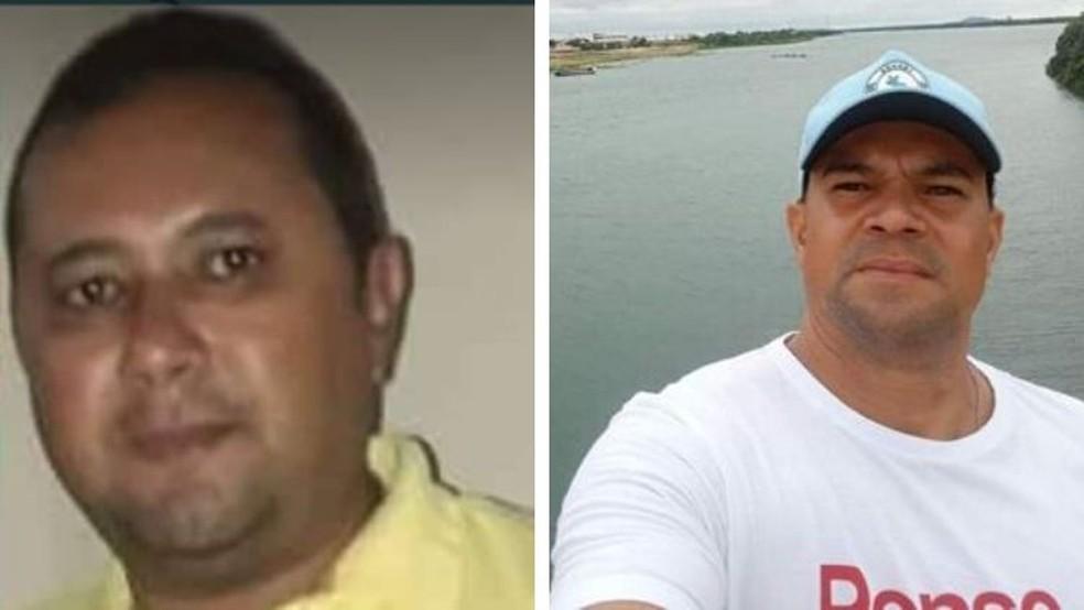 José Raimundo e Emerson Diego estão desaparecidos desde o dia 4 de abril — Foto: Reprodução