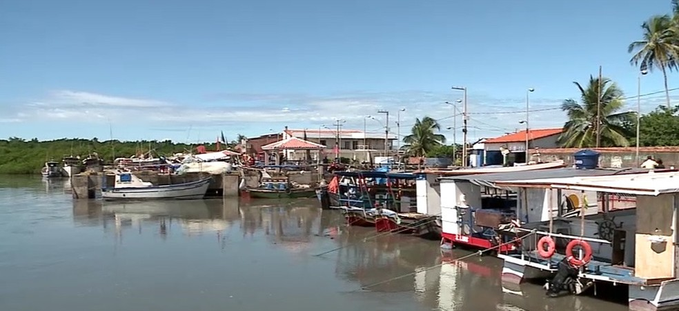 Trio saiu do Porto do Braga, em Raposa (MA) — Foto: Reprodução/TV Mirante