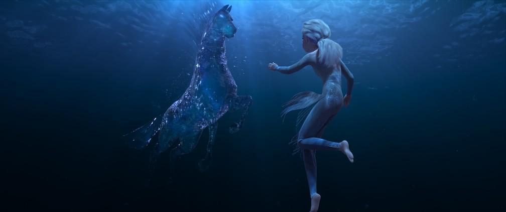 """Cena de """"Frozen 2"""" — Foto: Divulgação/Disney"""