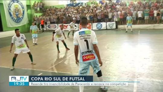 Resende tira invencibilidade de Paracambi e renasce na Copa Rio Sul de Futsal