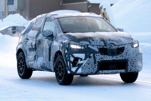 Novo Renault Captur não vai revolucionar o estilo do antecessor (Foto: AutoMedia/Autoesporte)