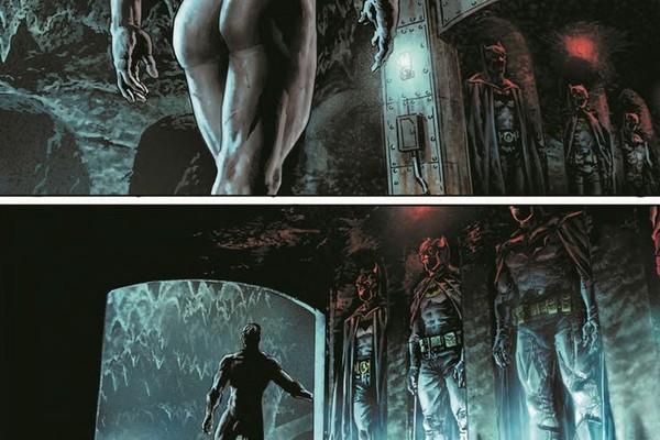 Desenho sem censura do Batman (Foto: divulgação)
