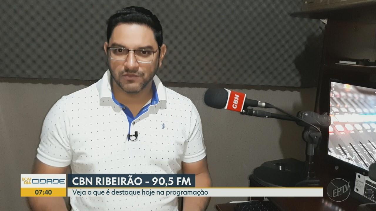 Veja o que é destaque na programação da Rádio CBN Ribeirão Preto