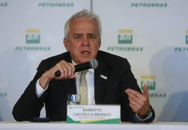Roberto Castello Branco, presidente da Petrobras (Foto: Tomaz Silva/Agência Brasil)