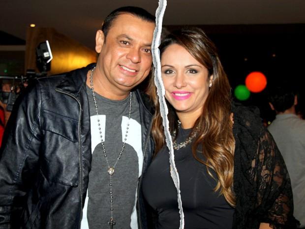 Frank Aguiar e Aline Rocha (Foto: Divulgação)