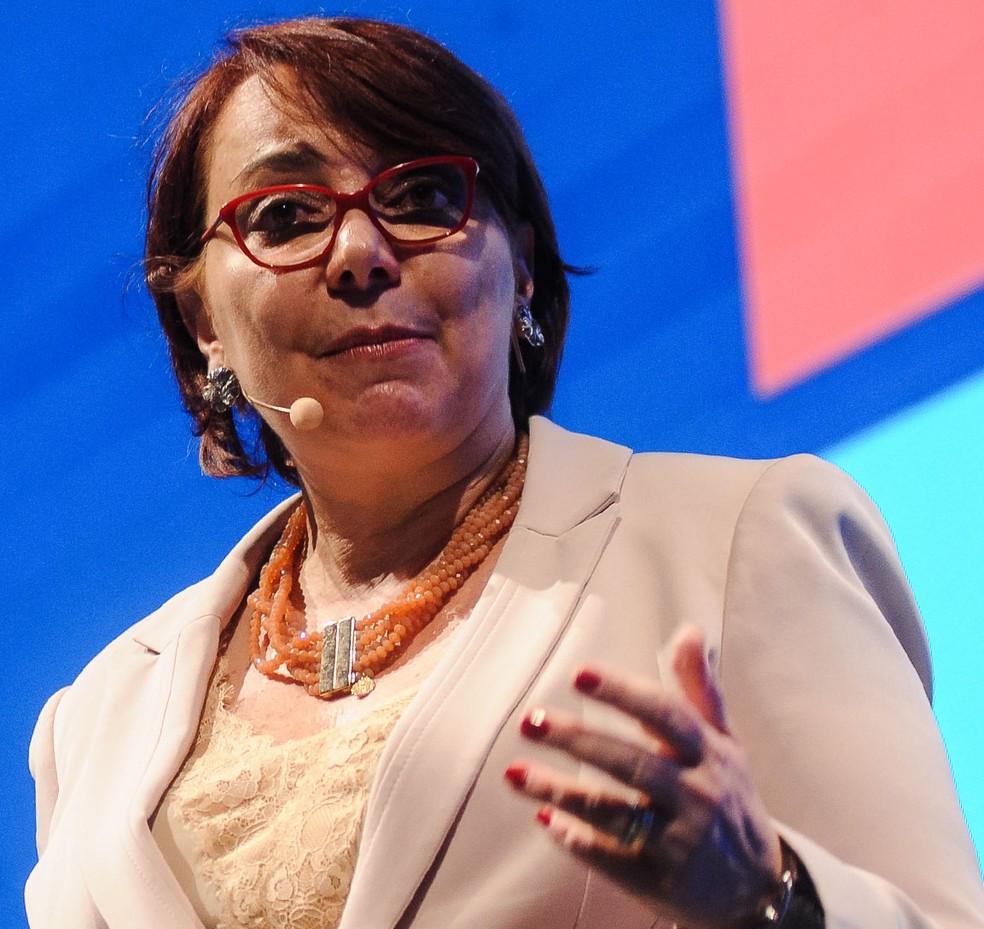 """Tânia Cosentino, presidente da Microsoft no Brasil: """"Uma coisa é trabalho remoto, outra é trabalho isolado"""" — Foto: Claudio Belli/Valor"""