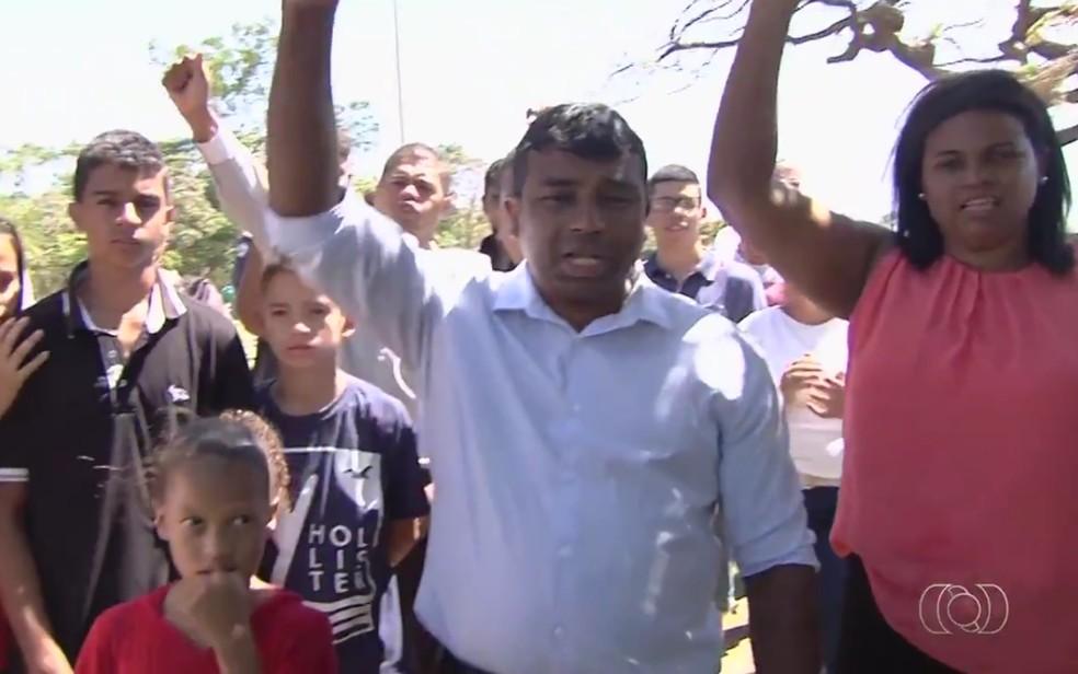 -  Família cobra punição para motorista bêbado que matou motociclista atropelada, em Goiânia, Goiás  Foto: Reprodução/TV Anhanguera