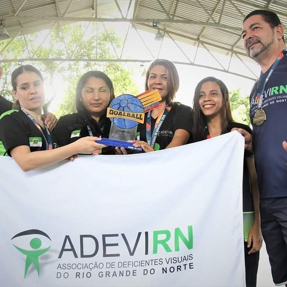 Adevirn, Regional Nordeste, Goalball — Foto: Divulgação/CBDV