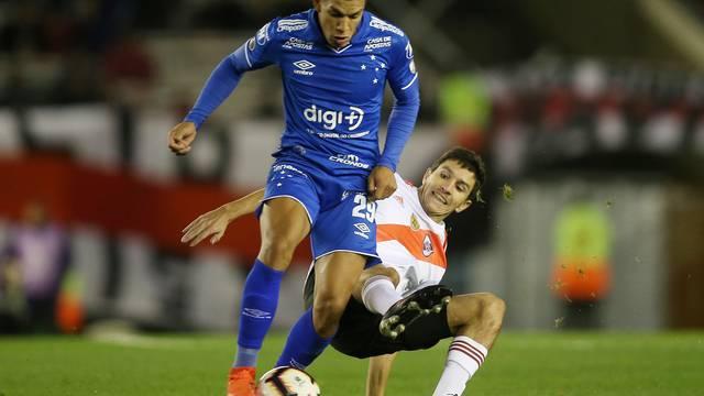 Lucas Romero, River Plate x Cruzeiro - Libertadores 2019