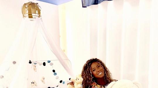 Ex-BBB Adélia Soares mostra decoração do quarto do filho; confira vídeo e fotos!